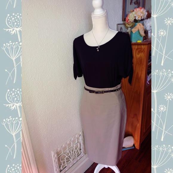Worthington Dresses & Skirts - Worthington Belted Pencil Skirt
